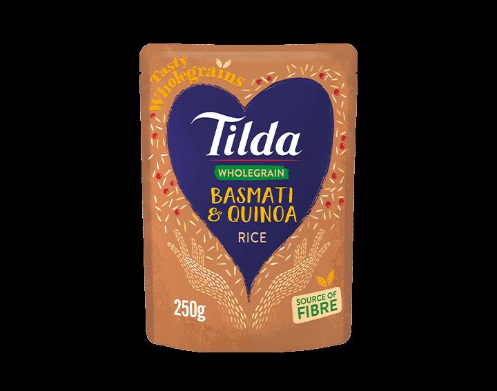 Wholegrain Basmati Rice & Quinoa 250g