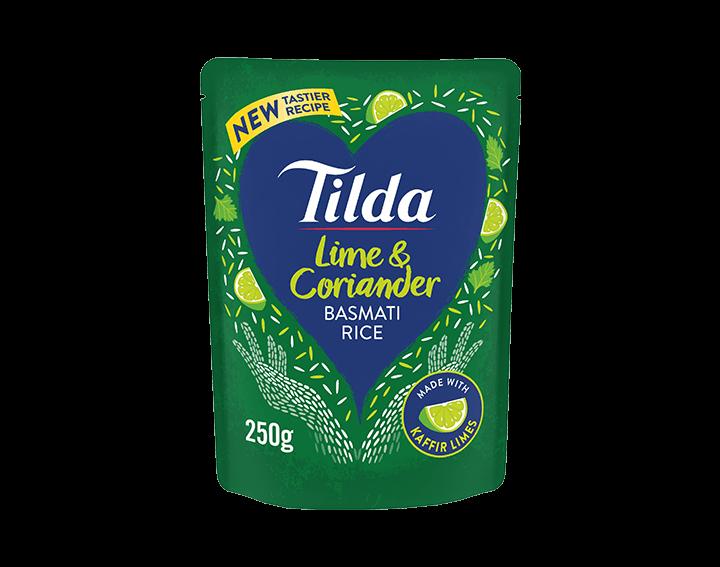 Lime & Coriander Basmati Rice 250g