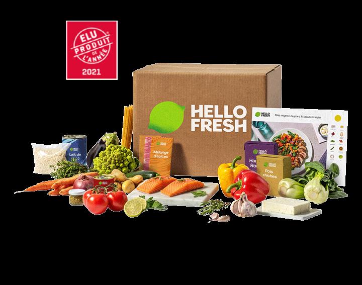 Box à cuisiner HelloFresh