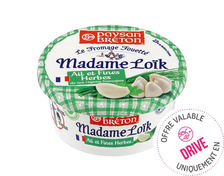 Madame Loïk Ail & Fines Herbes 150g