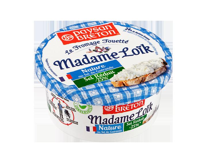 Madame Loïk Nature taux de sel réduit 150g