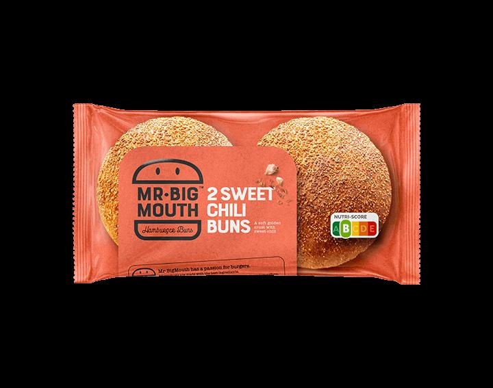 Pain Hamburger Sweet Chili 2x90g