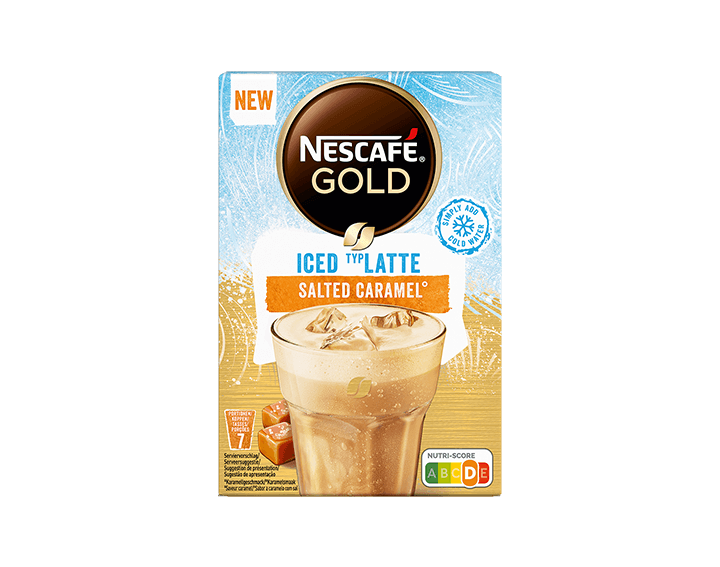 Latte Iced Salted Caramel