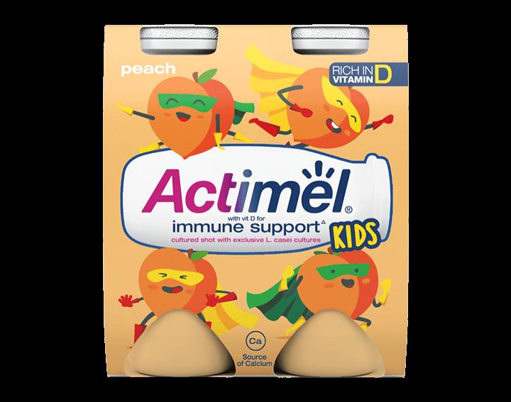 Peach Yogurt Drinks 4x100g