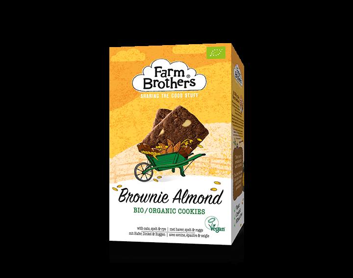 Vegan Brownie Almond