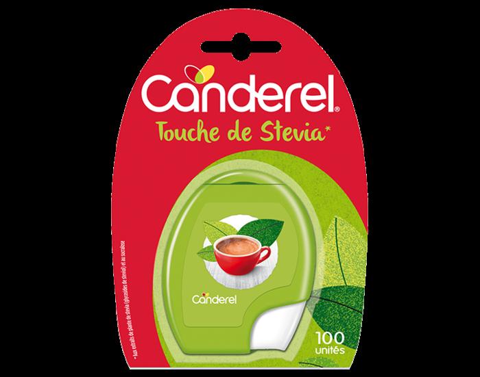 Distributeur Canderel Touche de Stevia* 100 unités