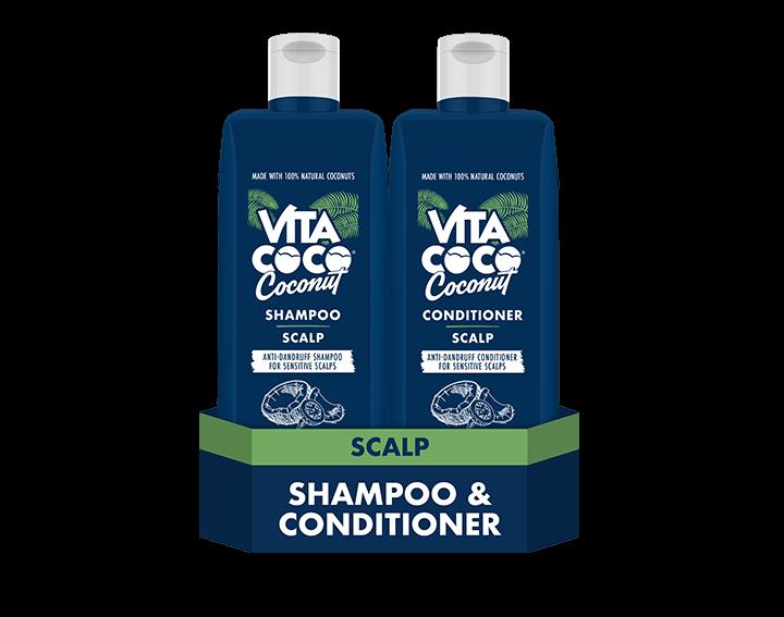 Scalp Coconut Shampoo and Conditioner