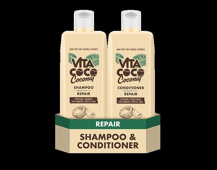 Repairing Coconut Shampoo and Conditioner