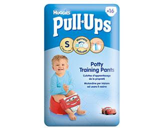 Pull-Ups® Garçon Taille S/4 (8-15kg) x16