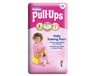 Pull-Ups® Fille Taille L/6 (16-23kg) x12