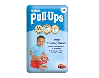 Pull-Ups® Garçon Taille M/5 (11-18kg) x14