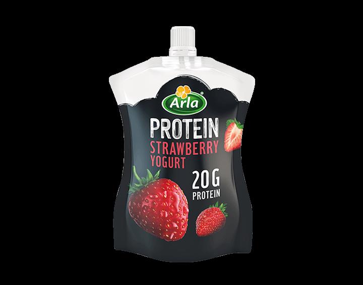 Strawberry Yogurt Pouch 200g