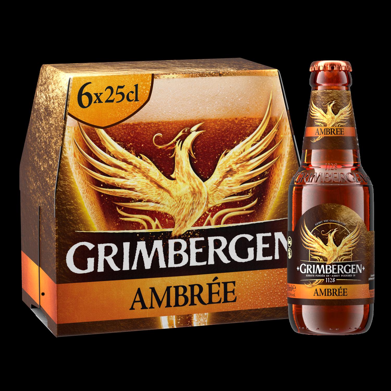 Grimbergen Ambrée - 6x25cl
