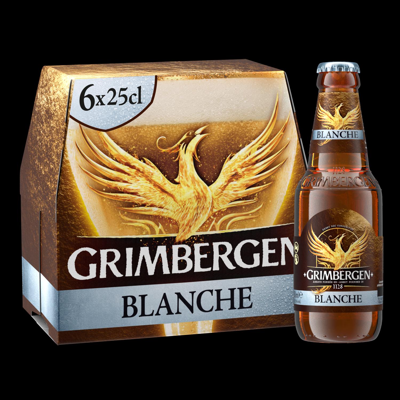 Grimbergen Blanche - 6x25cl