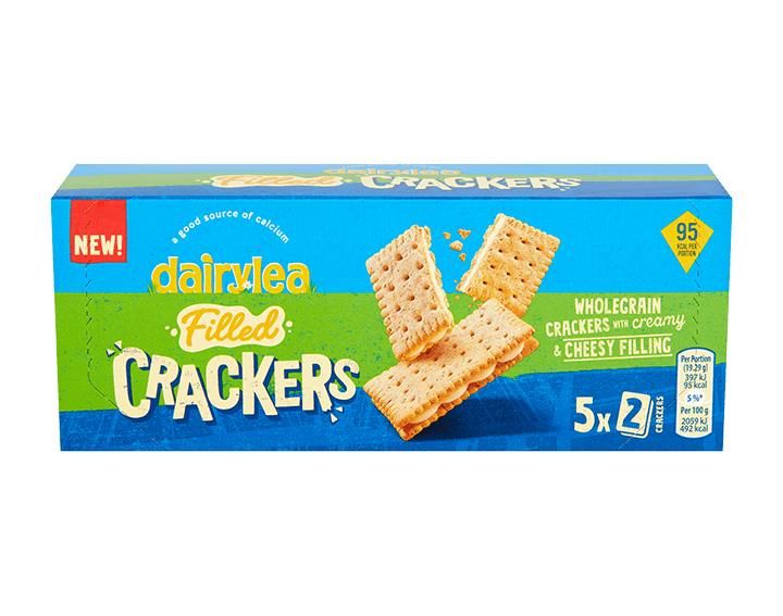 Filled Crackers Cheese Snack 96.4g