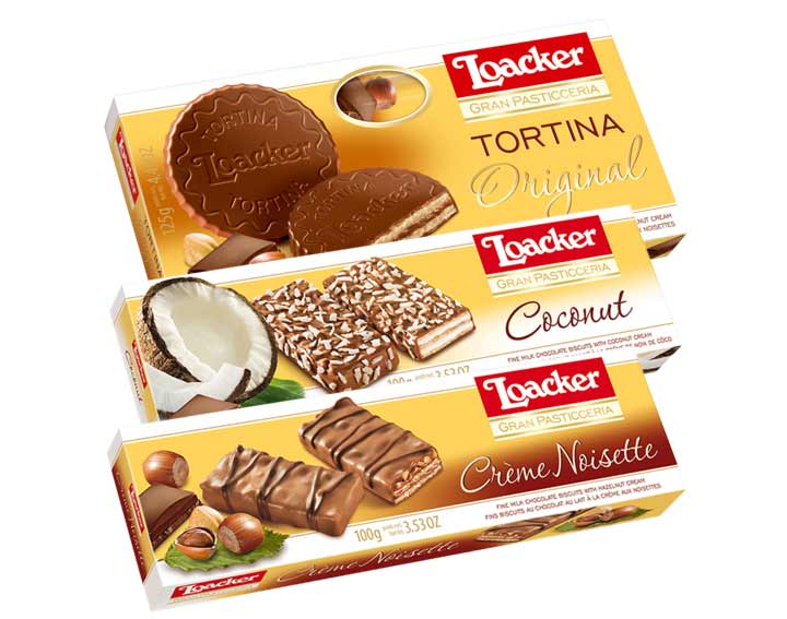 Gourmandises Loacker