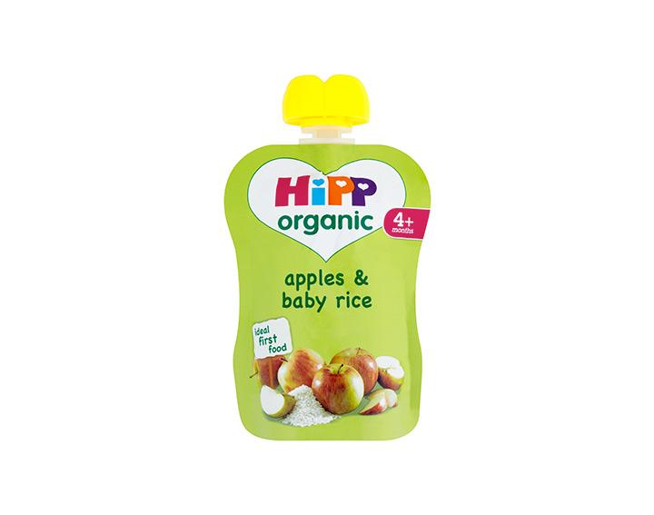 Apples & baby rice