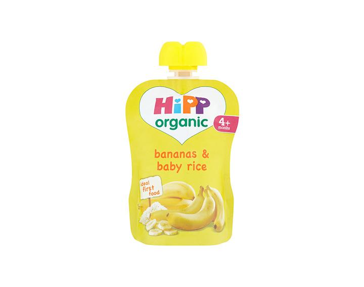 Bananas & baby rice