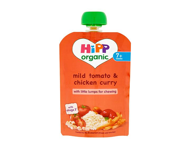 Mild tomato & chicken curry