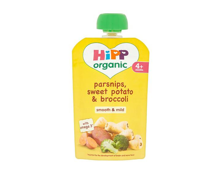 Parsnips, sweet potato & broccoli