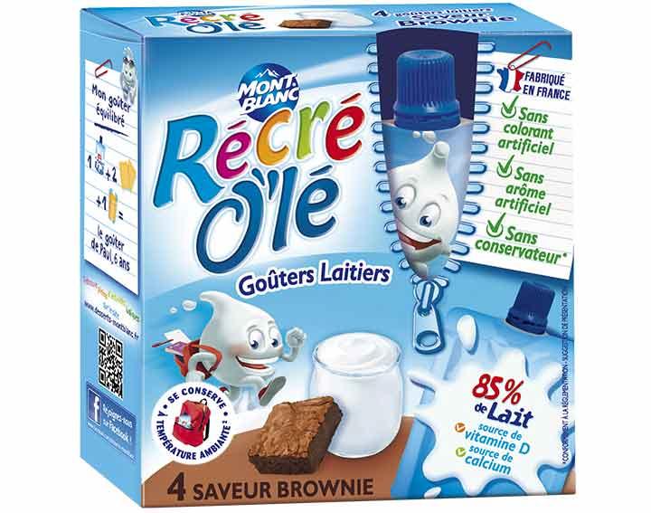 Récré O'lé saveur Brownie x4