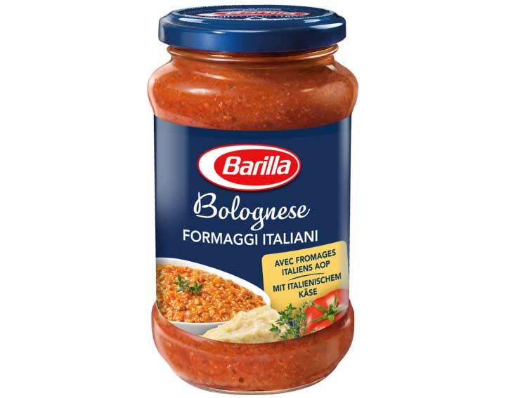 Sauce Rouge Bolognese Fromages Italiens 400g