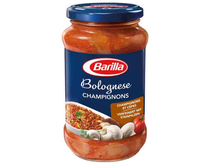 Sauce Rouge Bolognese Champignons 400g