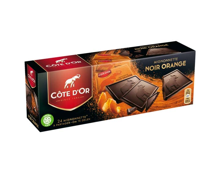 Côte d'Or Mignonnette Noir Orange 240g