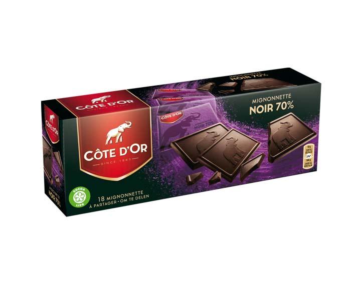 Côte d'Or Mignonnette Noir 70% 180g