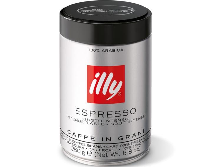 Café en grains torréfaction foncée : goût corsé