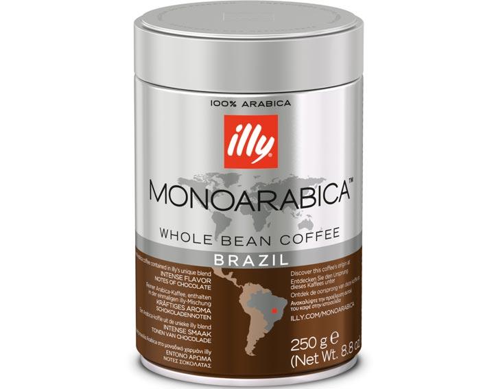 Café en grains Brésil : goût intense