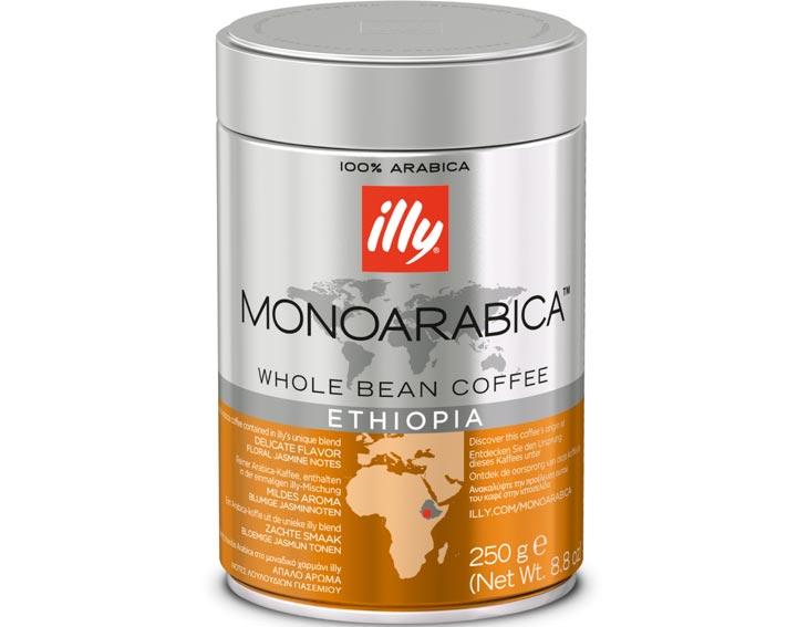 Café en grains Éthiopie: goût délicat