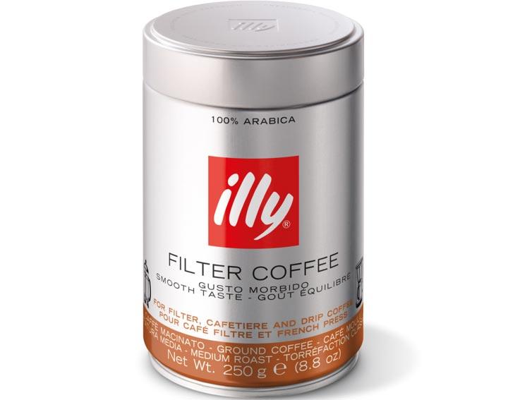 Café moulu filtre : goût équilibré