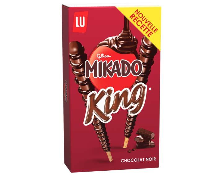 Mikado King Chocolat Noir 51g