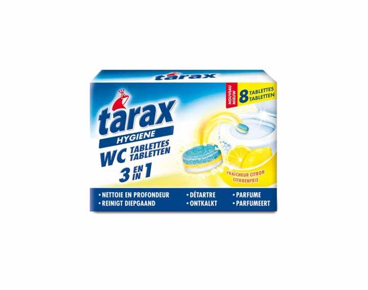 Tablettes WC « 3 en 1 » fraîcheur citron (x8)