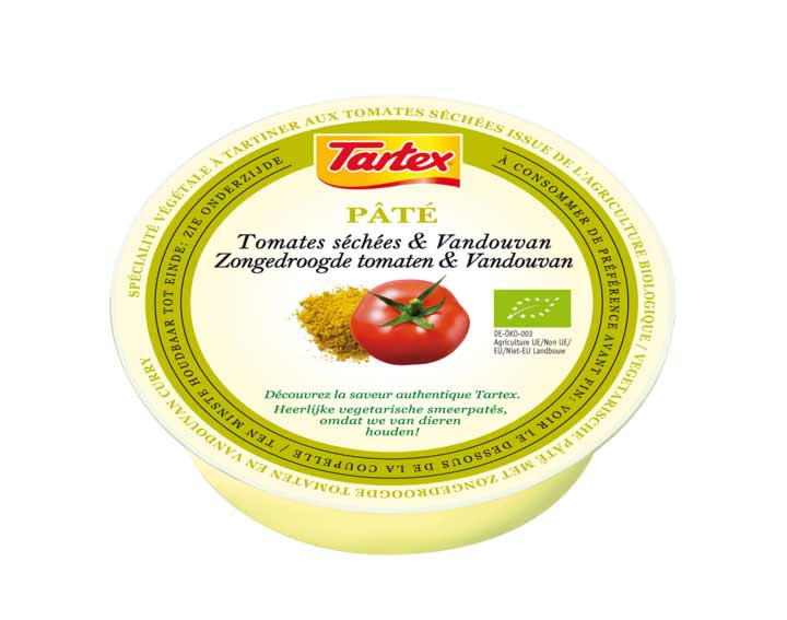 Terrine Végétale Tomates Séchées et Vandoovan