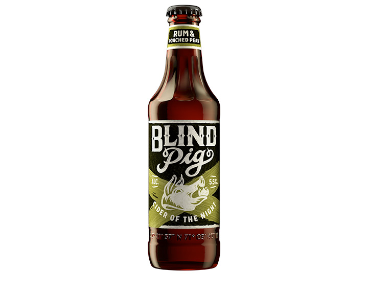 Blind Pig Rum and Poached Pear Cider 355ml