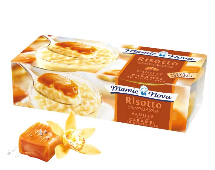 Risotto Cremissimo Vanille Caramel Beurre Salé