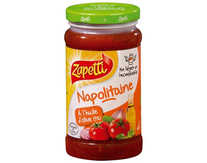 Napolitaine à l'huile d'olive 190g-380g