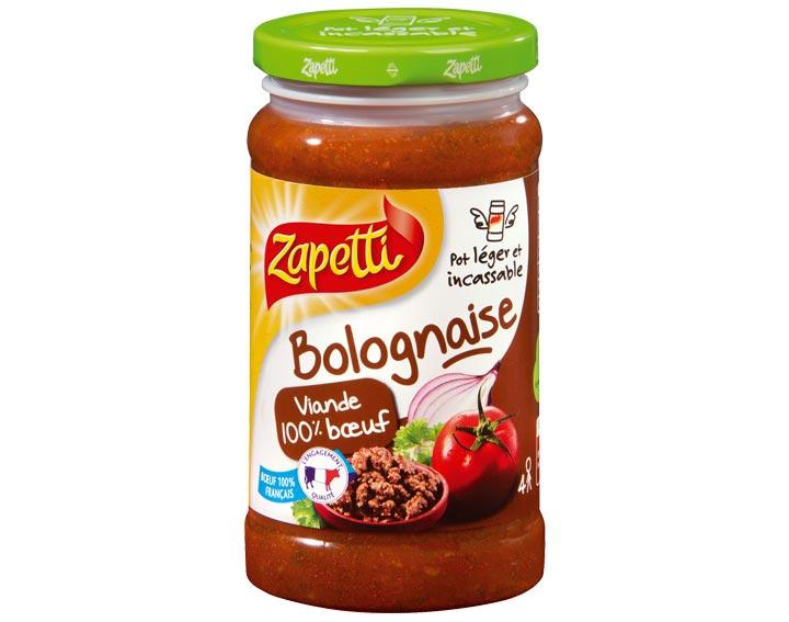 Bolognaise 100% bœuf 190g-380g-580g