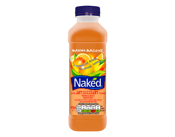 Mango Machine 450ml juice smoothie