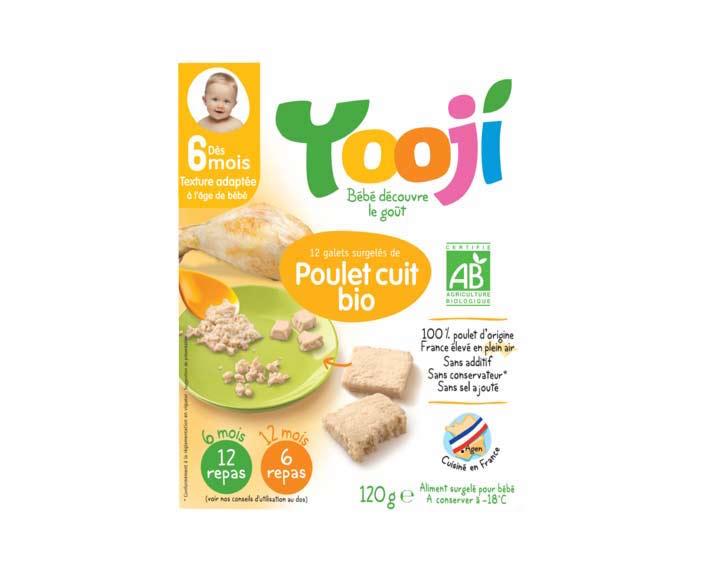 Poulet Cuit Bio (120g)