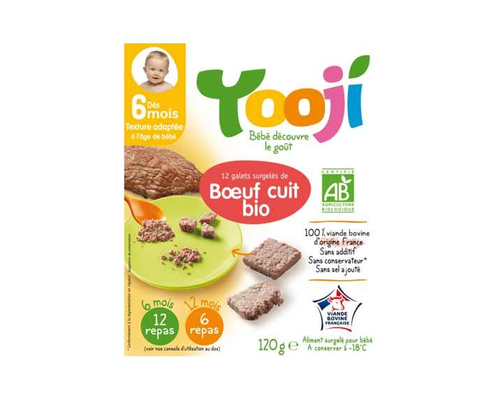 Bœuf bio (120g)