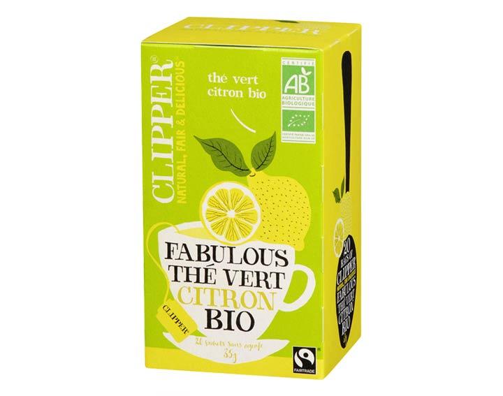 Fabulous Thé Vert Citron Bio