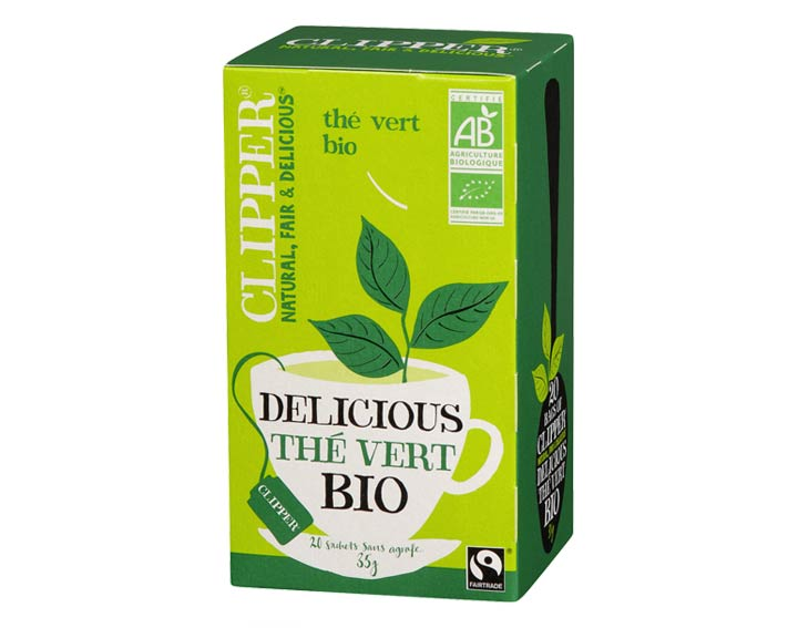 Delicious Thé Vert Bio