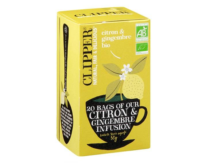 Infusion Citron & Gingembre Bio