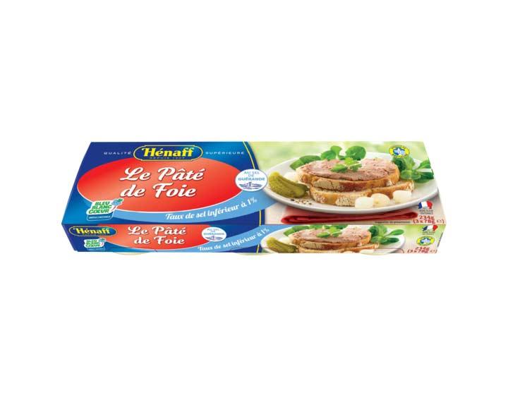 Lot de 3 Pâtés de Foie