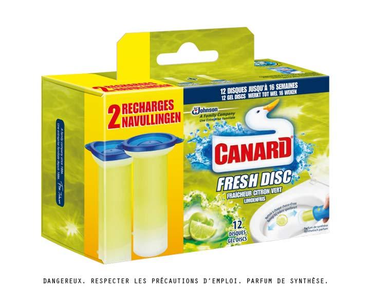 Pack de 2 Recharges Fraîcheur Citron Vert