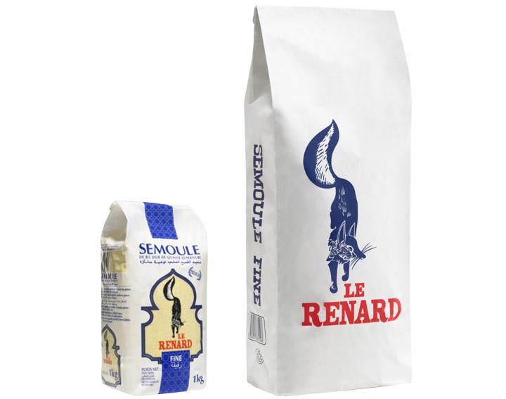 Le Renard Semoule Fine (1kg ou 5kg)