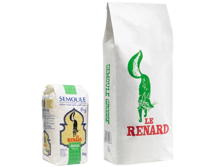 Le Renard Semoule Grosse (1kg ou 5kg)